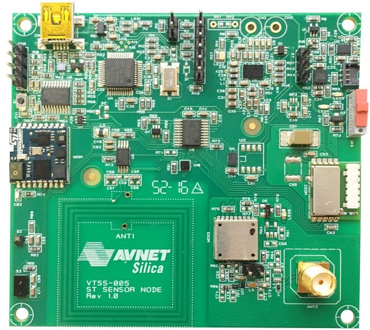 Avnet Silica launches IoT sensor-node board based on ST and