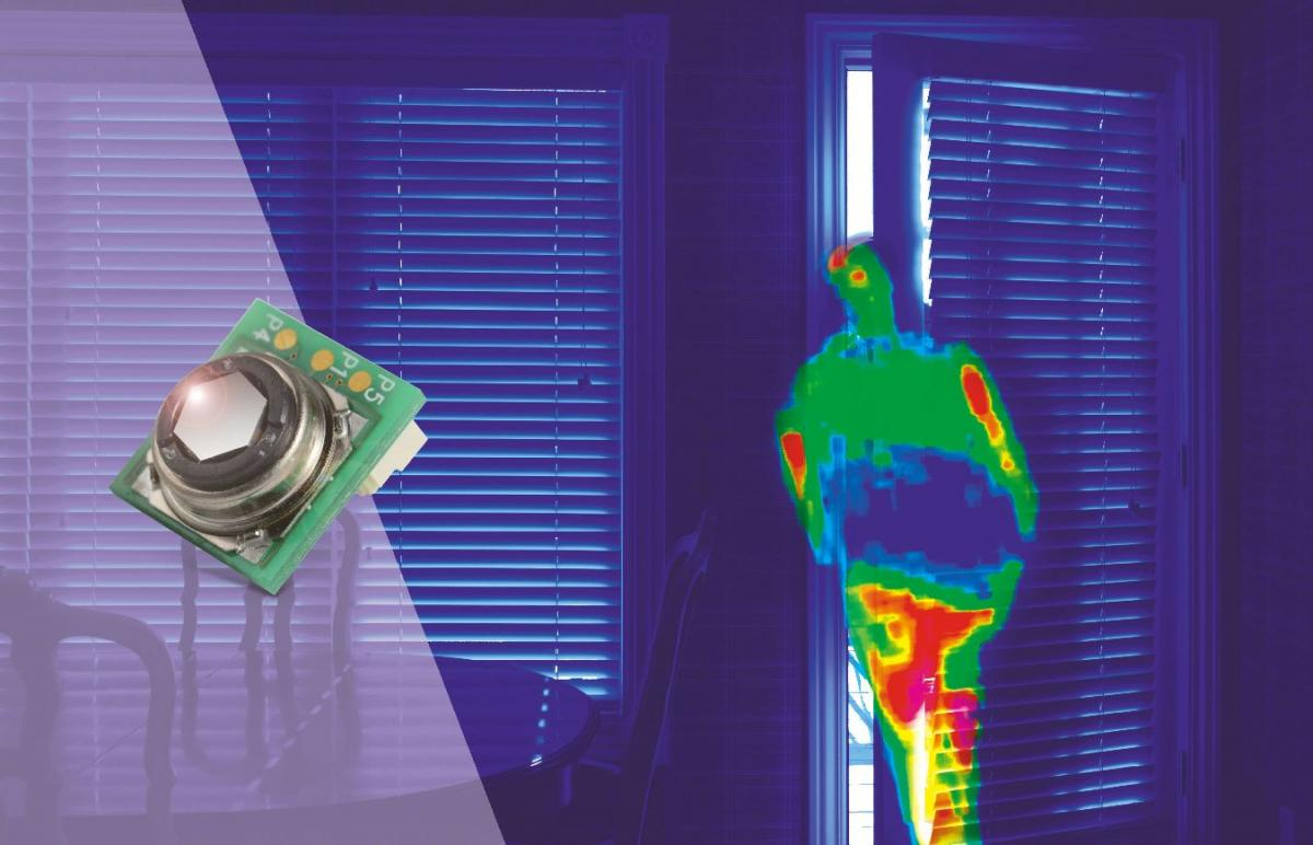 Omron Launches Super Sensitive Non Contact Temperature Sensor Overcomm Sensing And Control The New D6t 1a 02 Is A Infra Red Ir That Makes Full Use Of Proprietary Mems Technology