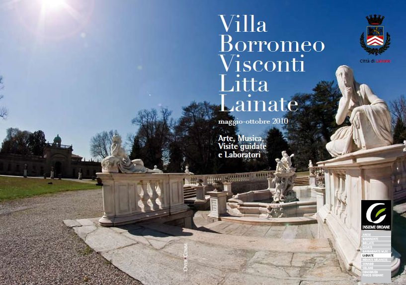 Villa Litta summer season, brochure of the events - drafting & paging