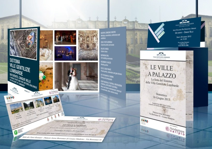 Aristocratic Villas' Network graphics