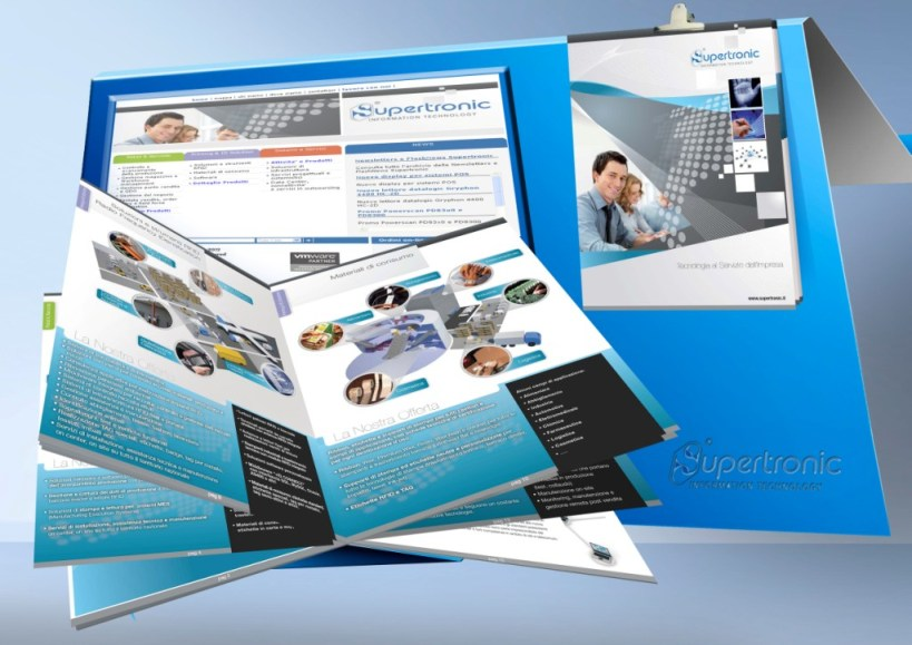 Supertronic web & paper profile - graphic, drafting, paging and printing